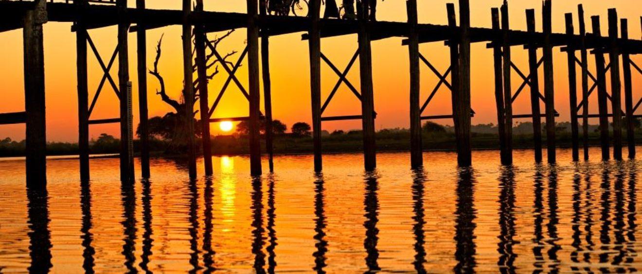 puente Ubein, Amarapura Myanmar, program de viaje Myanmar