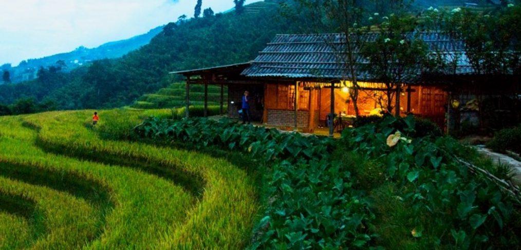 programa de viaje a Vietnam, excursión Sapa, casita en Sapa, viaje a Vietnam