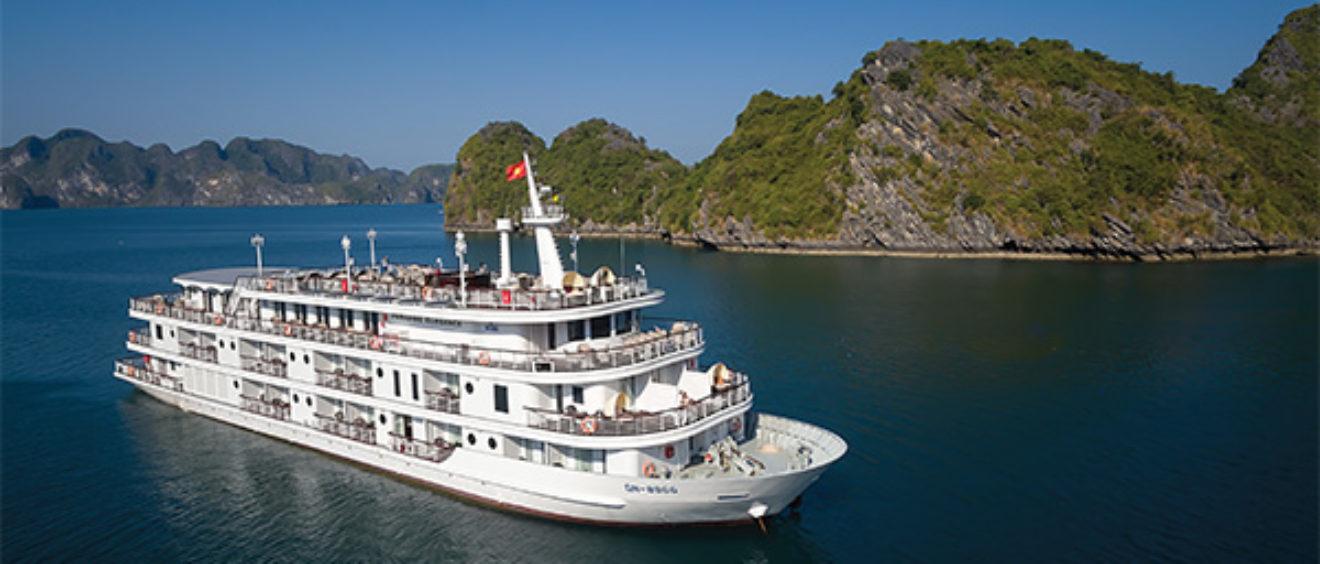 crucero en Halong Bay, crucero en Vietnam, crucero en Bahía Halong