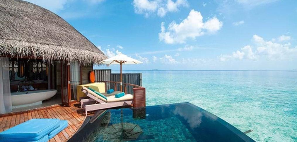 hotel en Maldivas. resort lujo maldivas
