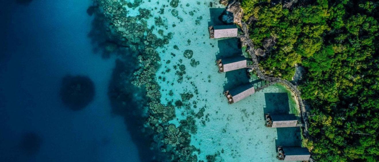 resorts en islas privadas
