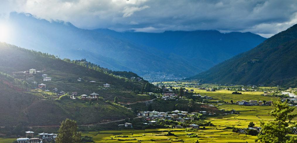 visitar valles Bhutan