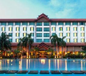 Hotel de lujo myanmar