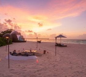 hotel de lujo Maldivas